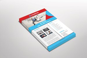 Champion Corporate Flyer Template