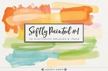 Softly Painted #1 : Brushes