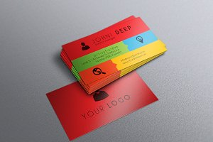 Flat Business Card - nex #001
