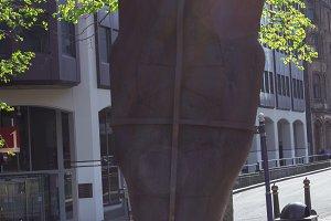 Iron Lady Statue