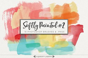 Softly Painted #2 : Brushes