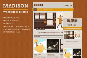 Madison - WordPress Theme