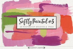 Softly Painted #3 : Brushes