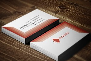 Photo Frame Business Card Template
