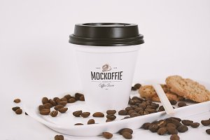Sealed Coffee Cup Mockup
