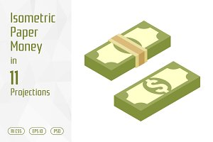 Isometric Paper Money