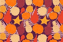Vector tropical patterns set.