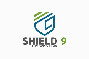 Shield 9 Logo