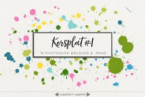 Kersplat #1 : Brushes