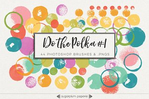 Do the Polka #1 : Brushes