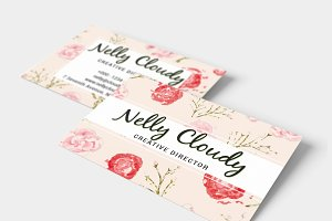 Watercolor Creative Business Card