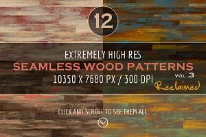 Extremely HR Wood Patterns vol. 3
