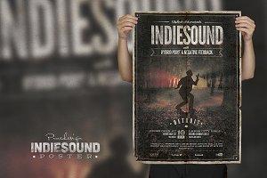 Indiesound - Vintage Poster