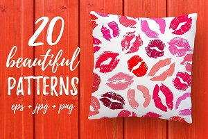 20 Lipstick Patterns