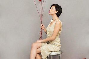 fashion girl model