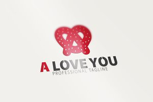 A Letter Logo / I love you