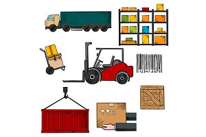 Delivery, shipping and freight