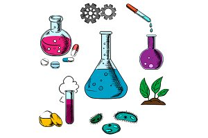 Science experiment objects