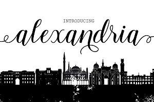 Alexandria Script (60% off)