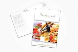 Restaurant/Fast Food Postcard