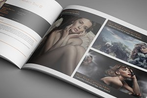 Portfolio Template for Indesign