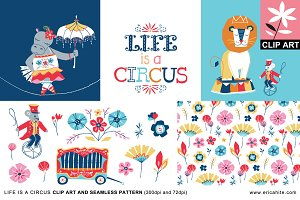 Life is a Circus: Clip Art (PNG)