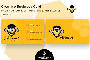 Creative Bee Business Card