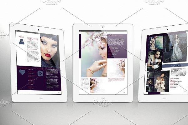 iPad Portfolio for Indesign