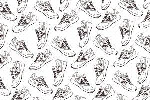 Sneakers pattern
