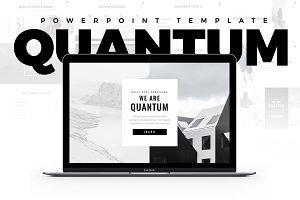 Quantum Minimal PowerPoint Template