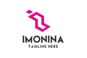 Imonina Logo Template