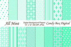 All Mint Digital Background Papers