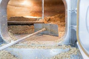 Craft beer elaboration process.