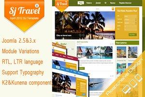 SJ Travel II - Cool travel template