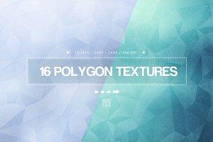 16 Polygon Textures