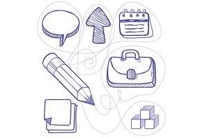 Hand Drawn Management Design Line