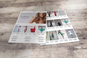 Fashion Product Promo Flyer