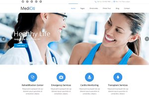MediCiti - WordPress Theme