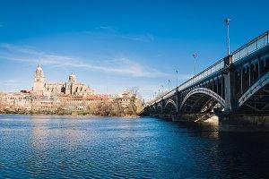 View of City of Salamanca, Spain