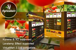 SJ Agriculture with fresh design