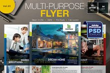 Multipurpose Flyer Vol.01