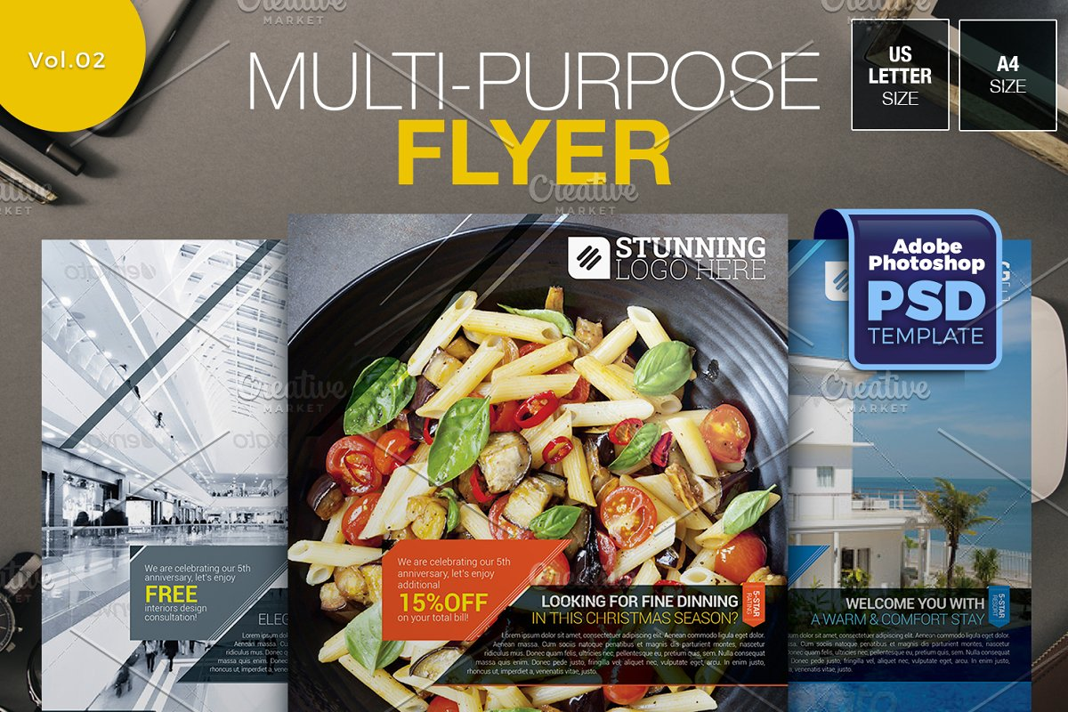 Multipurpose Flyer Vol.02 in Flyer Templates - product preview 8