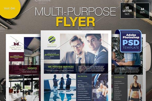 Multipurpose Flyer Vol.06 - Flyers