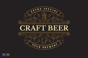 Beer Vintage Logo