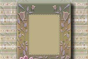 Photo frame PSD and JPG
