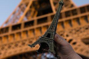 Cute Eiffel Tower souvenir