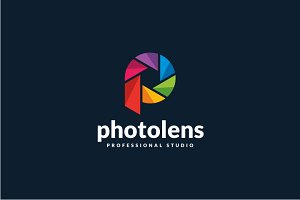 Photo Lens - P Logo
