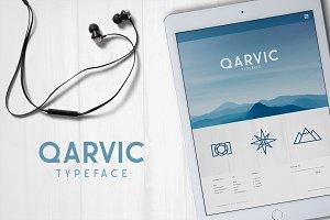 QARVIC Typeface