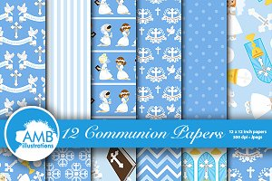 First Communion Papers AMB-1258