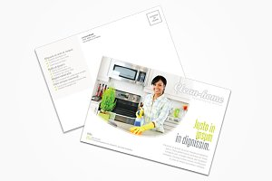 Cleaning Company Postcard